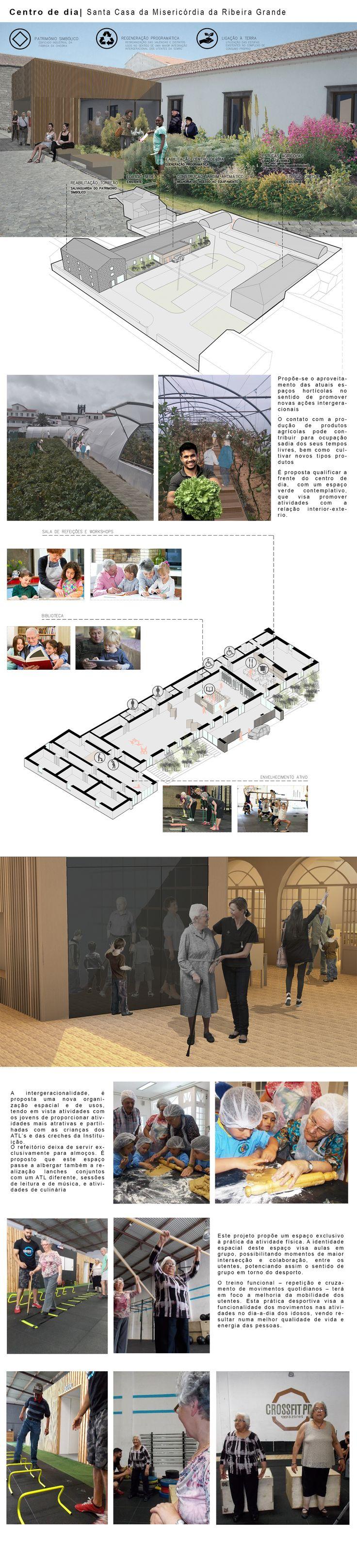 Centro de dia da Santa Casa da Misericórdia da Ribeira  Grande #architecture  #crossfit #CrossFitsenior #constructionlife #arquitectura #azores #açores #saomiguel #rabodepeixe #ribeiragrande #architecturelovers