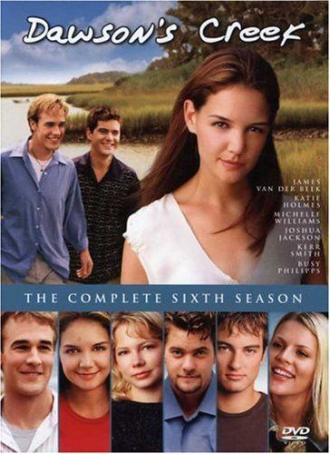Dawson's Creek...I'm several years late, but I'm finally watching it!