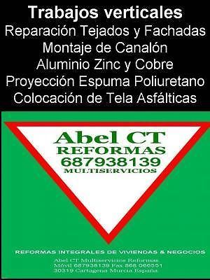 Trabajos Verticales Cartagena Canalon Aluminio Murcia San Pedro Pinatar La Manga | reformas / mantenimiento - 1/3