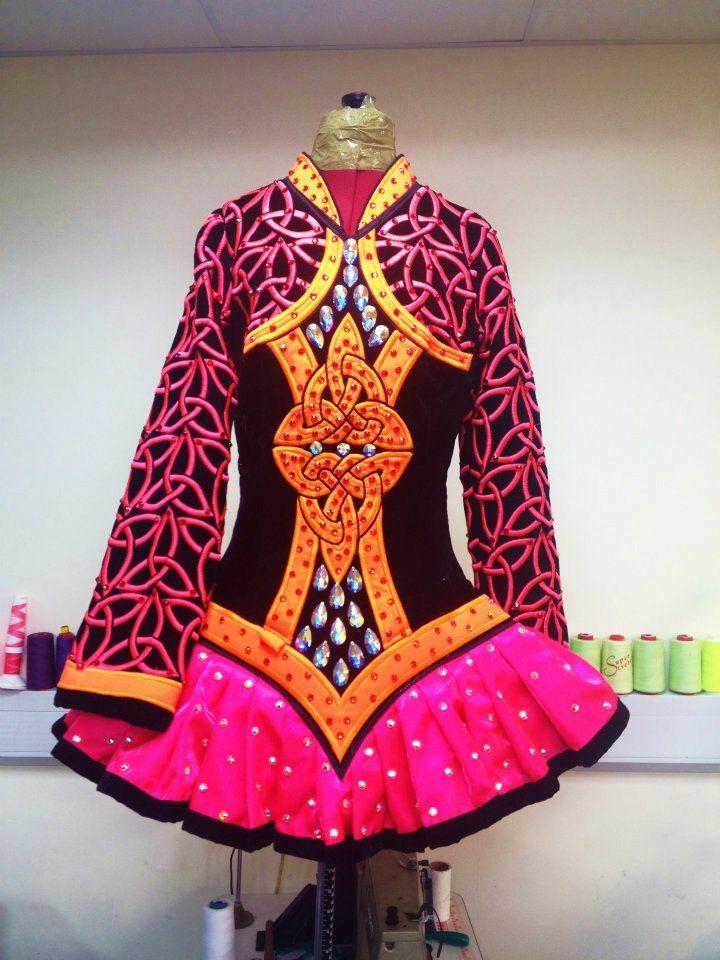 how to measure for an irish dance dress