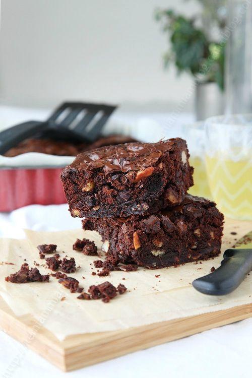 Brownies au chocolat de Hélène Darroze