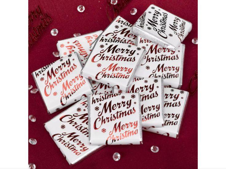 Merry Christmas Chocolate Neopolitans