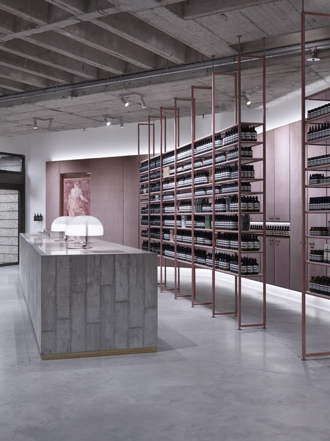 Aesop Munich by einszu33. Photo by Bodo Mertoglu.                                                                                                                                                                                 More