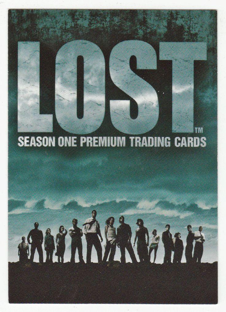 Lost - Season 1 # 1 Lost Season One Cover Card - Inkworks - 2005