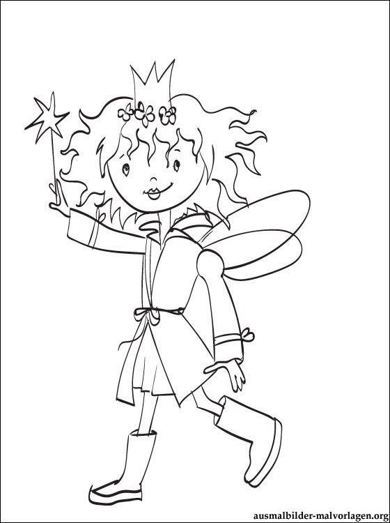 Ausmalbilder Prinzessin Lillifee Kostenlos di 2021