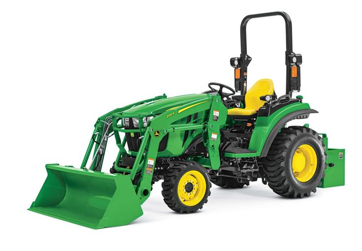 First Look: John Deere 2032R and 2038R Utility Tractors | https://charlesandhudson.com/john-deere-2032r-and-2038r/