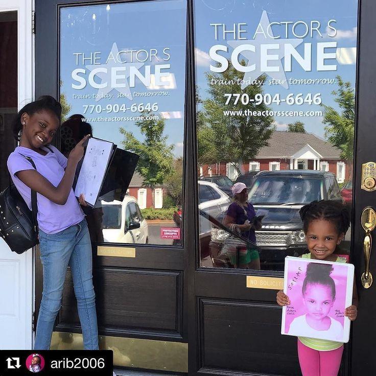 #Repost @arib2006  #tbt to class at @theactorsscene with my little sister. It's so cool that she's following in my footsteps.     #ariabrooks #skylarb #brooksgirls #actorslife #study #training #theactorsscene #cutekid #blackgirlsrock #followme #pilotseason #tv #film #commercial #featurefilm #webseries #print #casting #bookings #tylerperry #nickelodeon #disney #talent #siblings