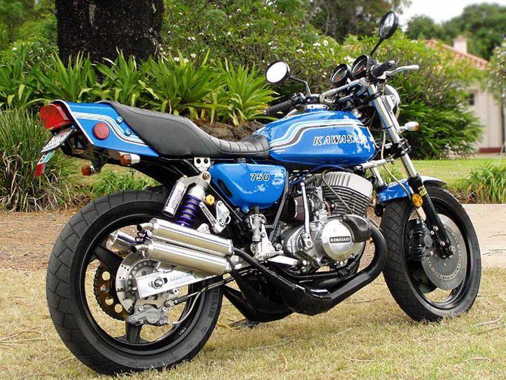 Mon rêve d'adolescent: Kawasaki 750 H2