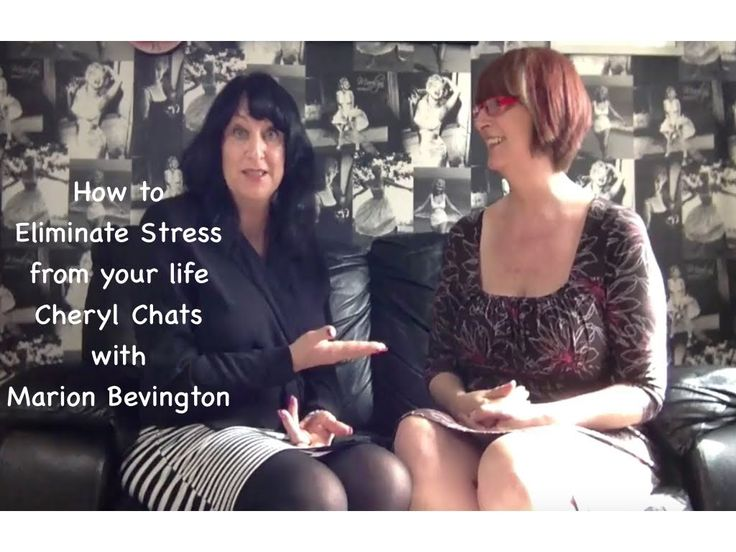 """Cheryl Chats with Marion Bevington on """"How to Eliminate Stress from your..."""