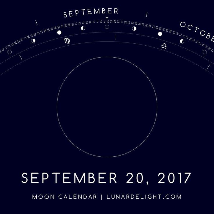 Wednesday, September 20 @ 05:30 GMT  New Moon  Next Full Moon: Thursday, October 5 @ 18:41 GMT Next New Moon: Wednesday, September 20 @ 05:30 GMT