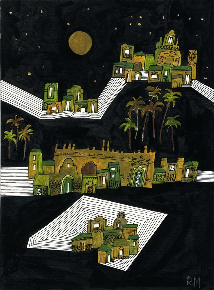 Città del sud - labirinto