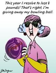 If I only had a bowling ball.Fit Humor, Funny Side, Funny Legally, Bowls Humor, Maxine Cartoons, Maxine Humor, Hate Diet, Bowls Ball, New Years