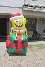 HUGE 8 ft Gemmy Airblown Inflatable SpongeBob SquarePants ...