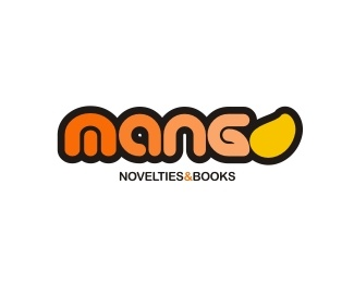 """Mango Novelties & Books"" Logo"
