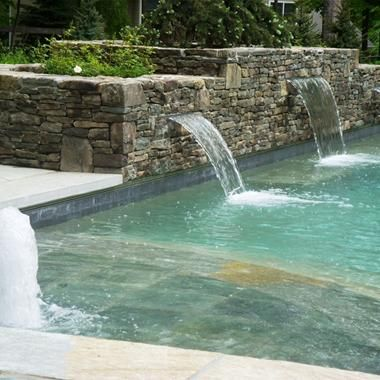 Swimming Pool Fountain Ideas swimming pool designs with slides photo 5 Home Sweet Home Pinterest Pool Fountain Fountain And Swimming Pools