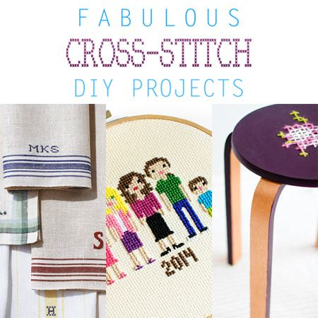 Fabulous Cross-Stitch DIY Projects - The Cottage Market