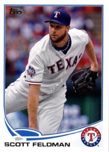 2013 Topps Baseball Card # 39 Scott Feldman Texas Rangers In Protective Screwdown Display Case! by Topps. $2.95. 2013 Topps Baseball Card # 39 Scott Feldman Texas Rangers In Protective Screwdown Display Case!