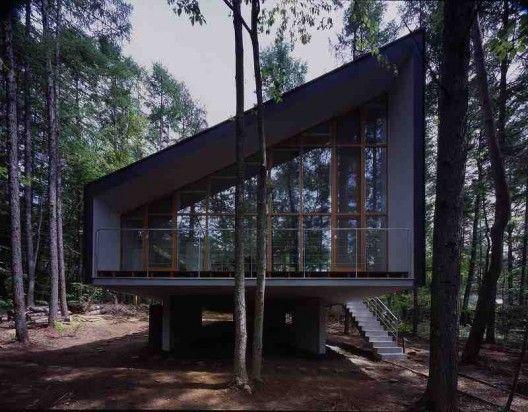 House to catch the forest | Chino-shi, Nagano, Japan | Tezuka Architects + MASAHIRO IKEDA co., ltd