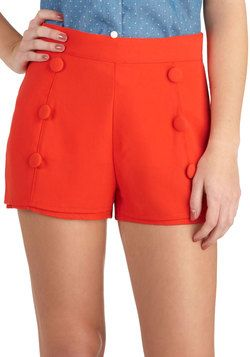 Ready or Nautical Shorts, #ModCloth