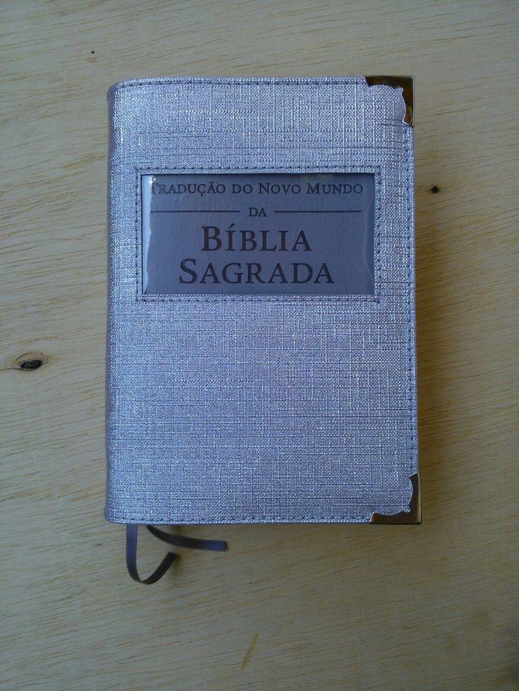 Capa Bíblia cinza linho