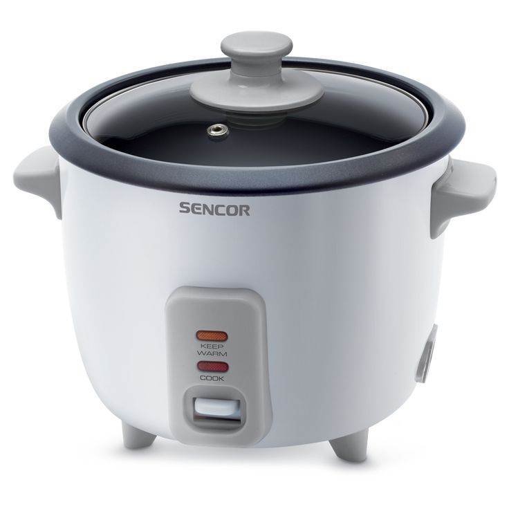 Rice cooker Sencor SRM 0600WH - It works on a steam cooking principle - Fully automated operation - Indicator lights for cooking and the keep warm function
