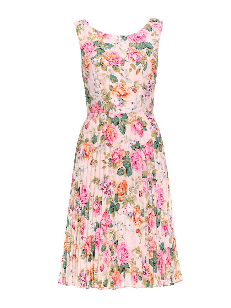 Lady Flounce Dress | Multi | Dresses