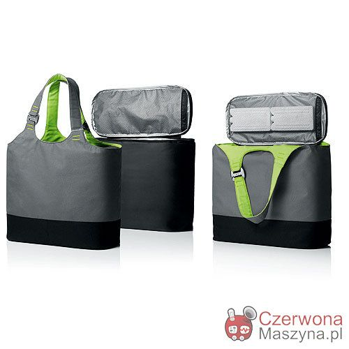 Torba termiczna Menu Unplugged szaro - limonkowa - CzerwonaMaszyna.pl
