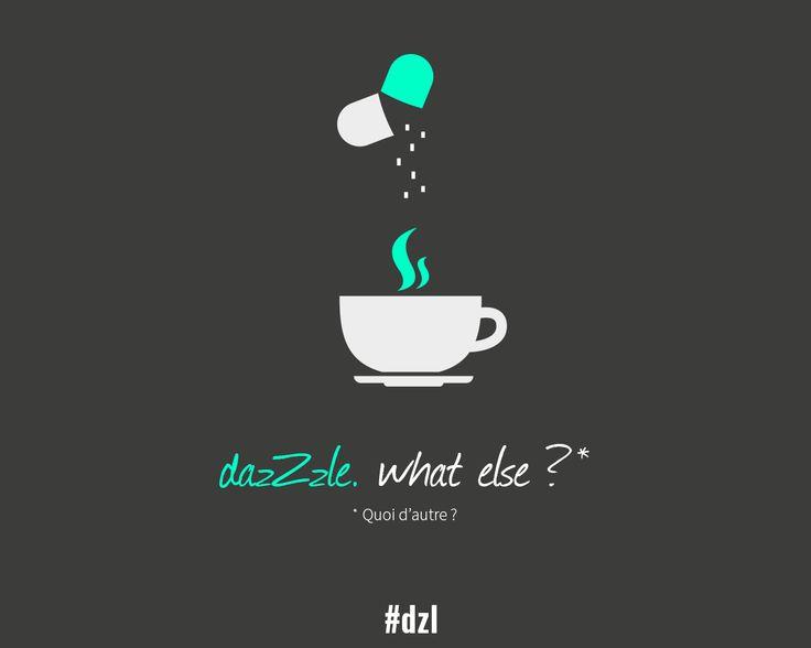 [DÉTOURNEMENT] dazZzle, what else ? #dzl #nespresso #pub #veille #détournement #Clooney #minimalist #media #brand #white #black #gray #green #design #light #pill #rules #inspiration