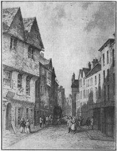 Nottingham in the 1800s