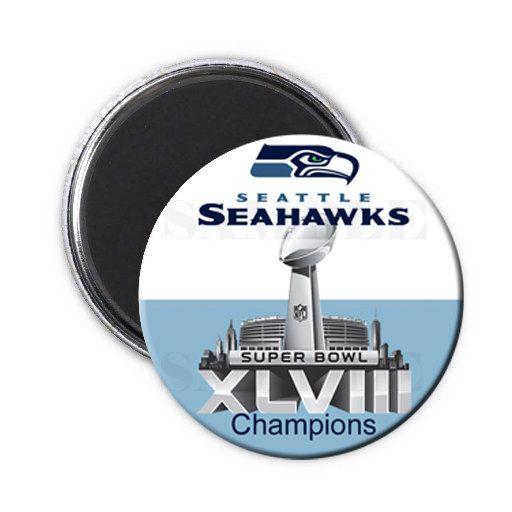 champions seahawks magnet,seahawks super bowl magnet,seahawks button,seahawks super bowl 2014,