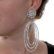 Bridal Earrings Who's That Lady?- Fifth Avenue Collection :: Beautiful Jewellery ::