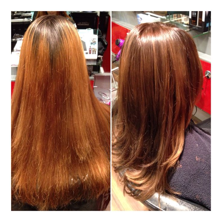 Colour change bride to be soft ombre balayage
