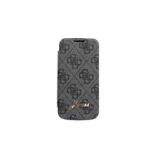 La housse Samsung Guess pour votre galaxy s4 en mode texturé et gris. Sublime à découvrir !