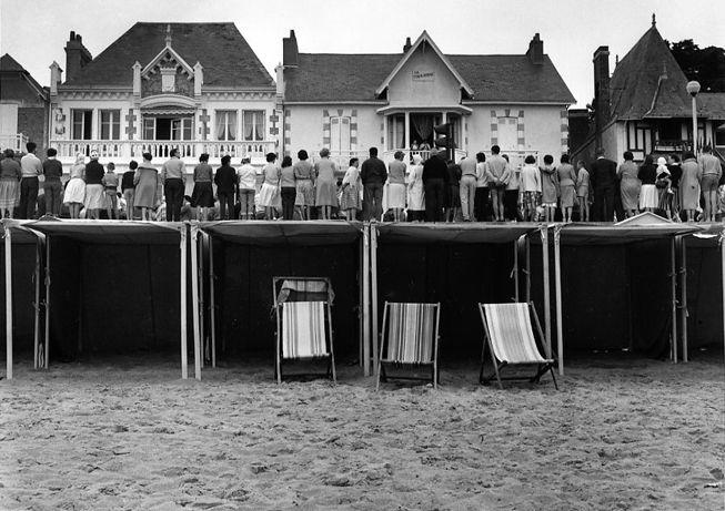 Pornichet. Août 1959. Robert Doisneau.