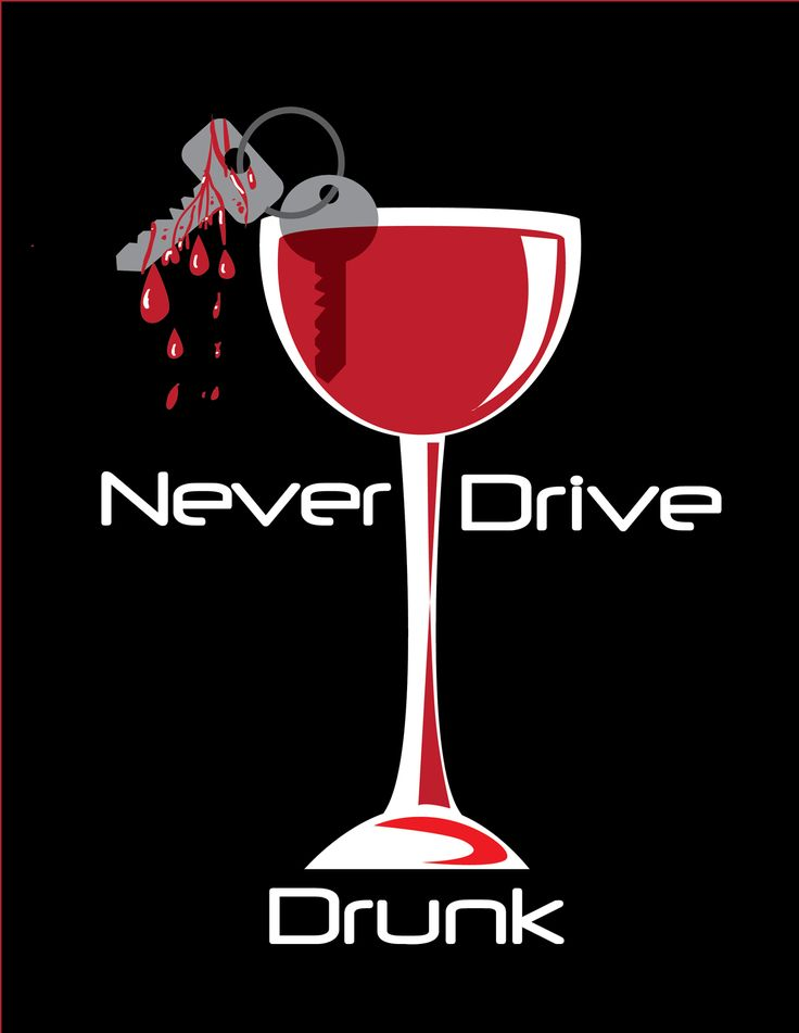 A Drunk Driving PSA poster by Chelsea Rind