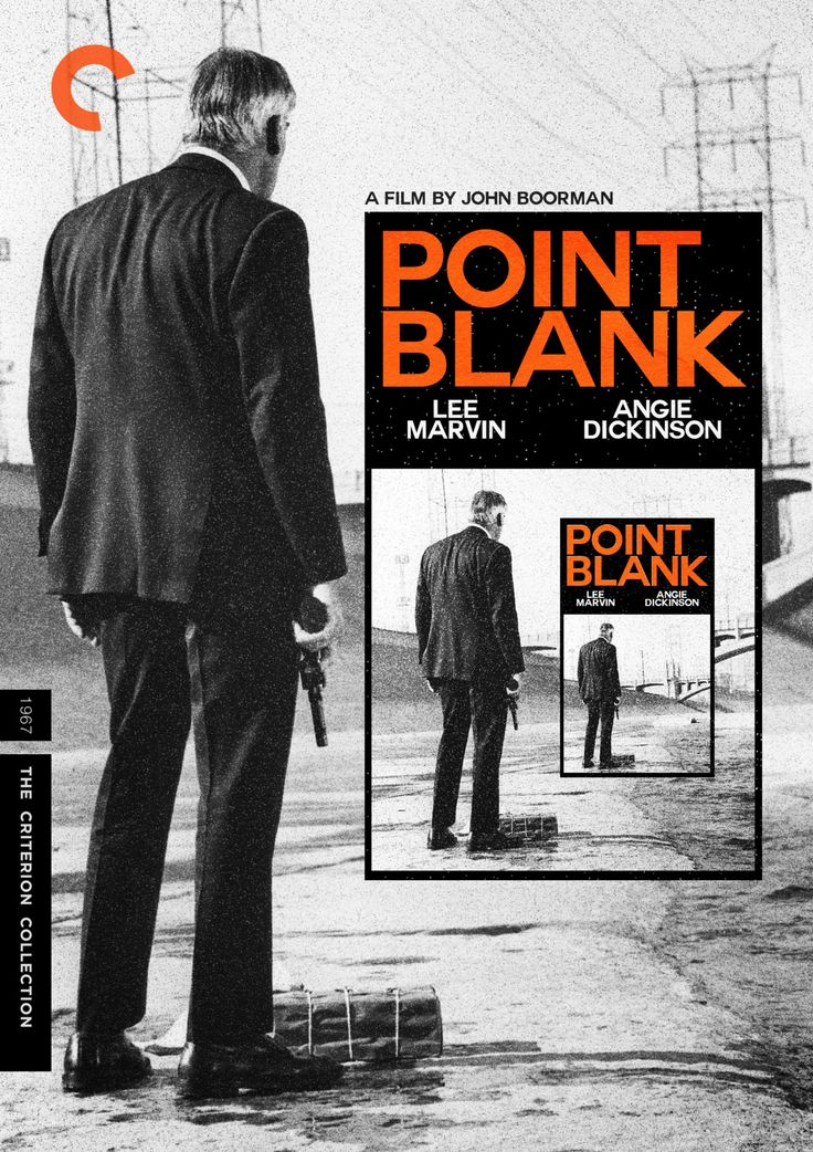 Midnight Marauder's Criterion cover for John Boorman's Point Blank ( 1967 )