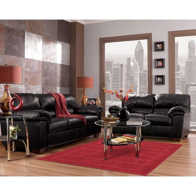 Commando - Black Living Room Set