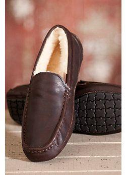 Men's Overland Aiden Sheepskin Slippers