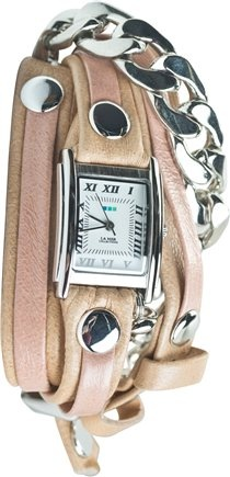 LA MER SILVER MALIBU CHAIN WATCH | Swell.com  All these watches are too cute!
