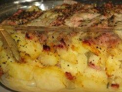 Zapiekanka ziemniaczana z mozzarellą