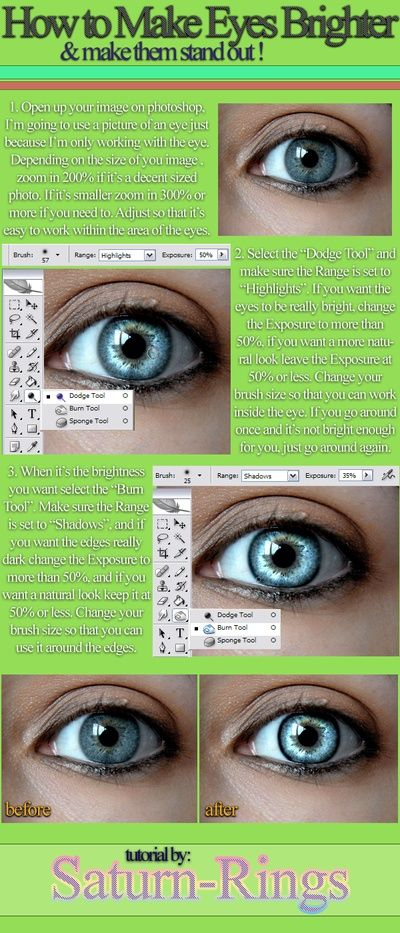 tutorial: how to edit eyes so they stand out in photos