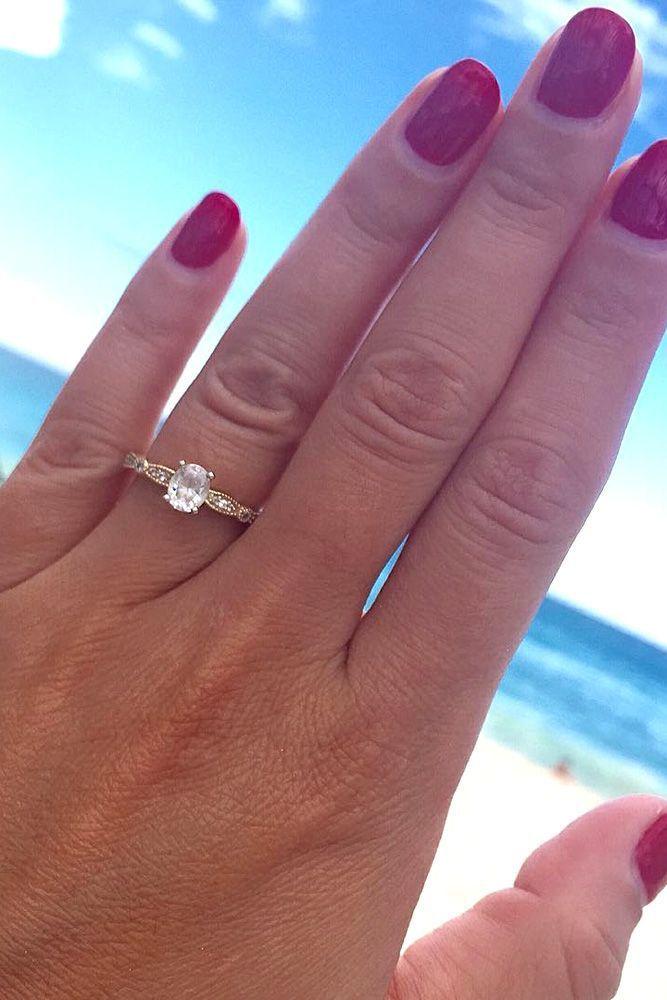 Idée et inspiration Bague De Fiançailles :   Image   Description   Simple Engagement Rings For Girls Who Loves Classics