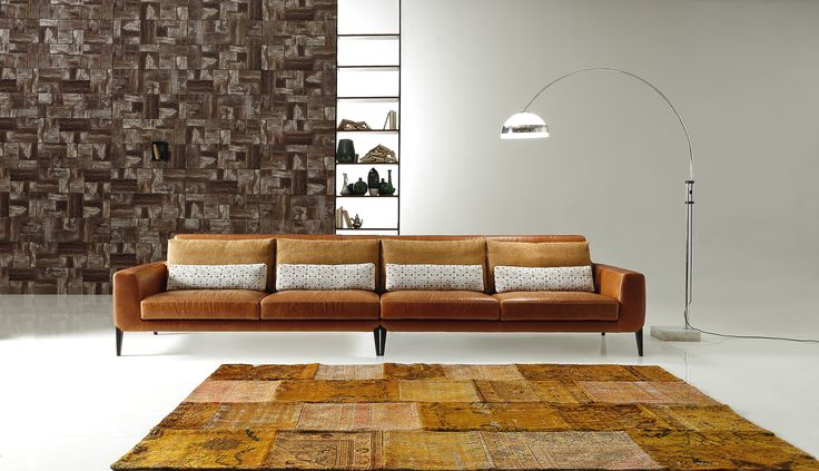 Leather Sofas Model Miller L. Ditre Italia   Products   Leather