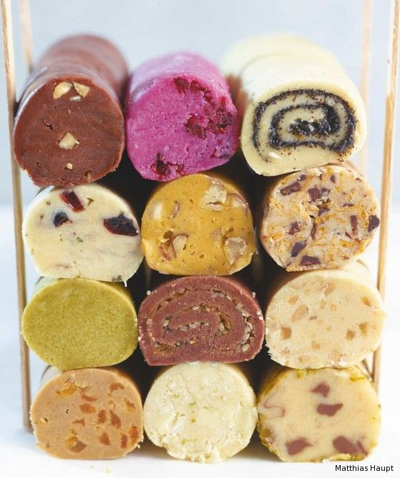 Grundteig für Keksrollen - wie viele verschiedene Kekse einfach möglich sind und das sind ja noch nicht mal alle #backen