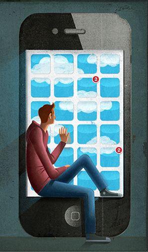 Ilustraçoes ácidas mostram os efeitos do excesso de consumo http://www.bluebus.com.br/ilustracoes-acidas-mostram-os-efeitos-excesso-de-consumo/