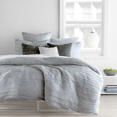 dkny city pleat duvet cover set