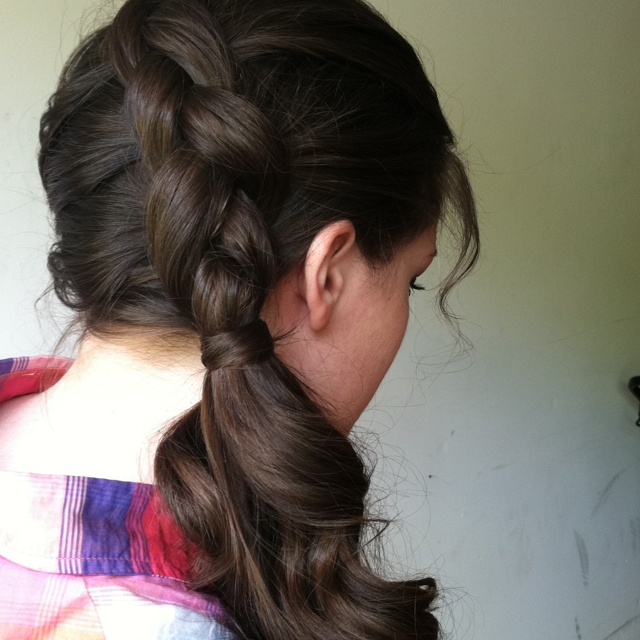 1000+ ideas about Curly Side Ponytails on Pinterest | Side ...