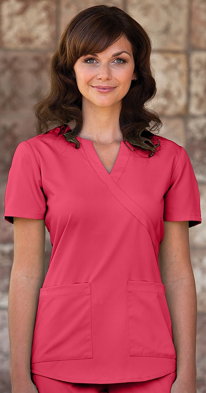 Scrubs - NRG by Barco Mock Wrap Scrub Top