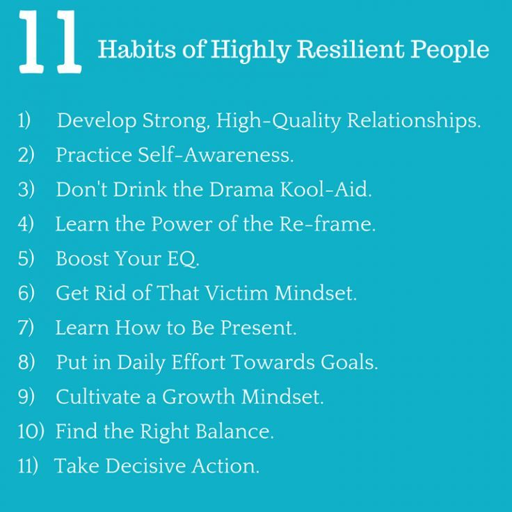 Boost Your Immunity To Workplace Stress 11 Habits Of Highly Resilient People Success In The Workplace Emotional Resilience Resilience Stress