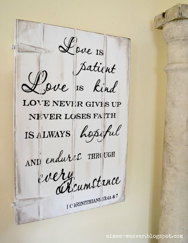 Sign Projects! Tons of examples: Wall Art, Signs Projects, Signs Quotes, Wood Signs, My Life, Love Is Patient, Love Quotes, Wooden Signs, Paintings Signs
